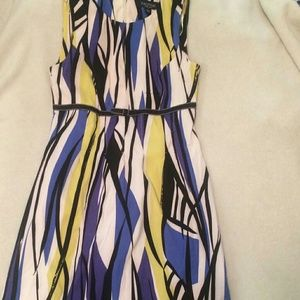 Vintage bow pencil dress